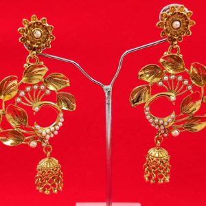 Beautiful Peacock Design Jhumki