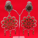 AntiqueDual Tone Party Wear Earring