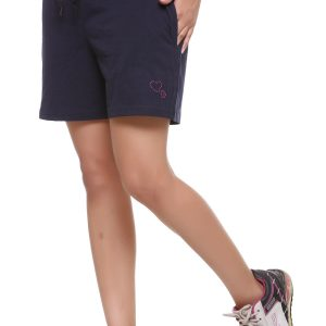 Solid / Plain Gym / Sports Shorts for Women